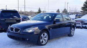 BMW 5 Series 5 SERIES 525XI * AWD * 6 SPEED MANUAL *