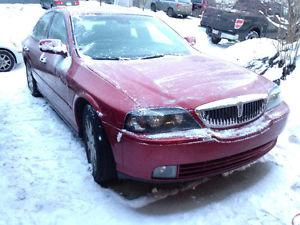 Lincoln LS v8 trade for Polaris snowmobile