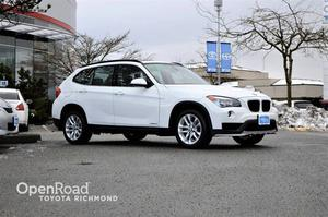 BMW X1 Navi, Leather Interior, Heated Front Seats, Blu