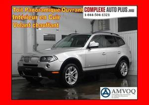 BMW X3 xDrive3.0i *Toit pano. Cuir, Mags
