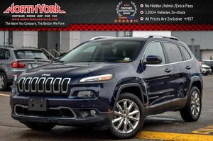 Jeep Cherokee Limited Leather Nav R.Start Backup Cam