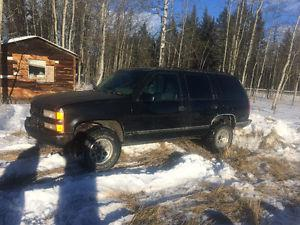 Chevrolet Tahoe SUV, Crossover