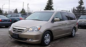 Honda Odyssey TOURING/ LEATHER/ SUNROOF/ NAVI/ DVD