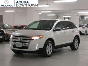 Ford Edge SEL/No Accident/Navi/Low KMs/Dual