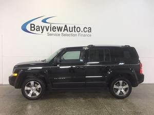 Jeep Patriot HIGH ALTITUDE- 4x4! HEATED LEATHER!