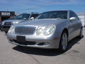 Mercedes-Benz E-Class EL