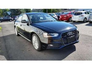 Audi A4 Komfort Quattro Plus S-Line W/Audi Care