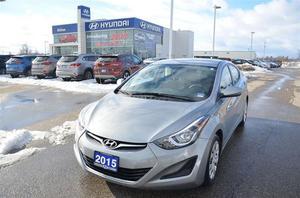 Hyundai Elantra GL GL   HEATED FRONT SEATS   BLUETOOTH
