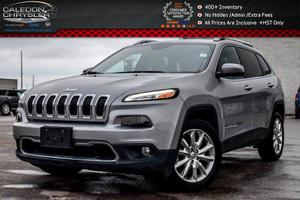 Jeep Cherokee Limited Navi Backup Cam Bluetooth Safety