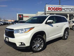 Toyota Highlander XLE AWD V6 - NAVI - 8 PASS - LEATHER