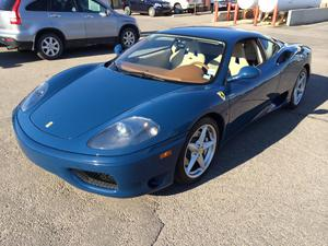 ferrari 360 modena spider convertible giallo yellow cozot cars. Black Bedroom Furniture Sets. Home Design Ideas