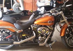 Harley Davidson FXSB Breakout