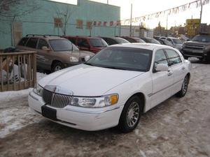 Lincoln, Town Car