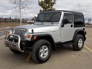 Jeep Wrangler TJ Sport TJ HARD TOP 4X4