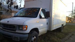 Ford E-Series Van white cube van Other