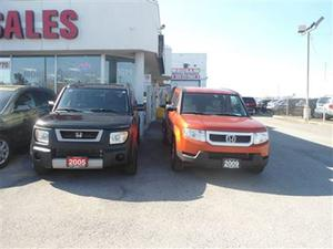 Honda Element 5dr 4WD Auto NEW TIRES SUNROOF NO