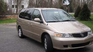Honda Odyssey EX-L-HEATED LEATHER--POWER SLISONG DOORS