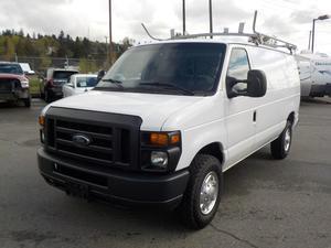 Ford Econoline E-250 Cargo Van w/ Shelving & Ladder