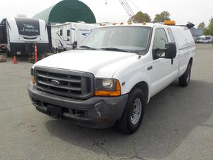 Ford F-250 SD XL SuperCab Long Box 2WD with Canopy