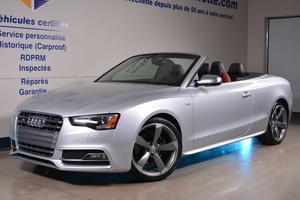 Audi S5 TECHNIK 3.0L AUTOMATIQUE CONVERTIBLE CAM