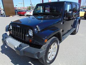 Jeep Wrangler SAHARA 4X4 TOIT