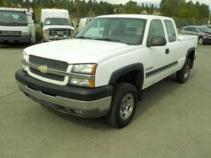 Chevrolet Silverado HD Work Truck Ext. Cab Regular