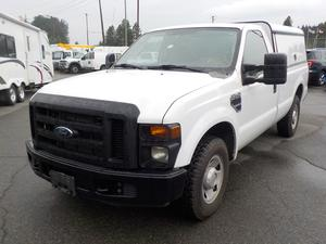 Ford F-250 SD Reg Cab XL 2WD W/ Service Canopy long box