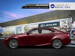 Lexus IS 250 in Calgary, Alberta, $