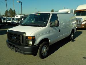 Ford Econoline E-250 Cargo Van w/ Shelving & Bulkhead