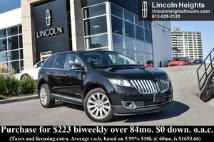 Lincoln MKX AWD - LEATHER - BLUETOOTH - NAV - BLIND