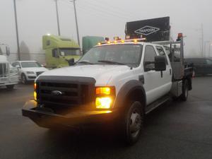 Ford F-450 SD Crew Cab 2WD Diesel dually Dump