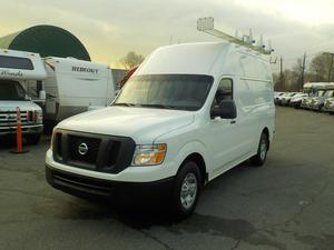 Nissan NV  HD V8 High Roof Cargo Van with Shelving