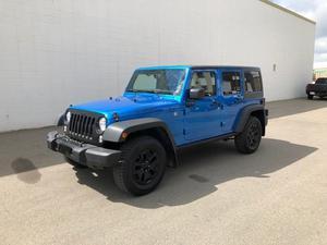 Jeep Wrangler Unlimited in Edmonton, Alberta, $