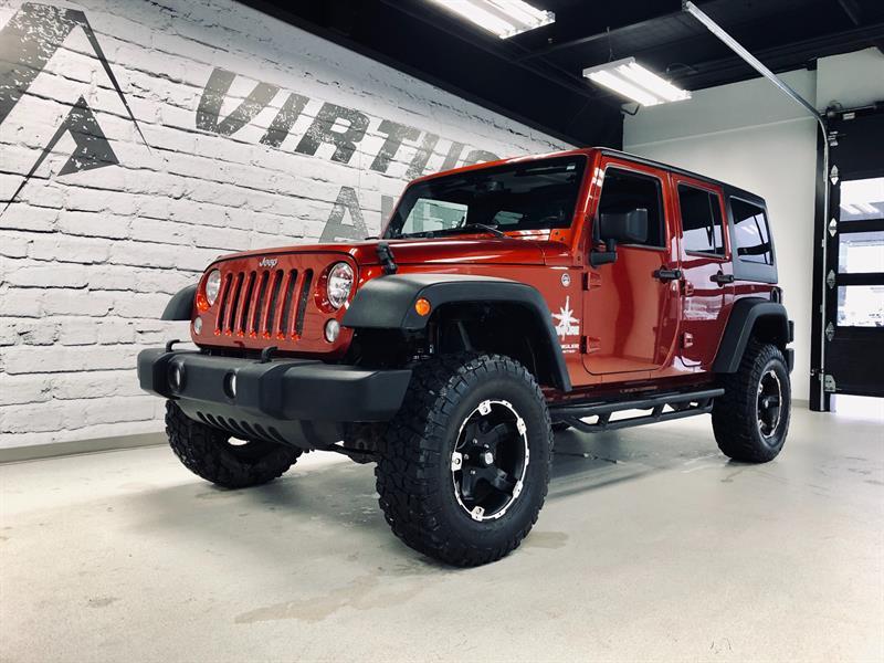 Jeep Wrangler AWD SPORT