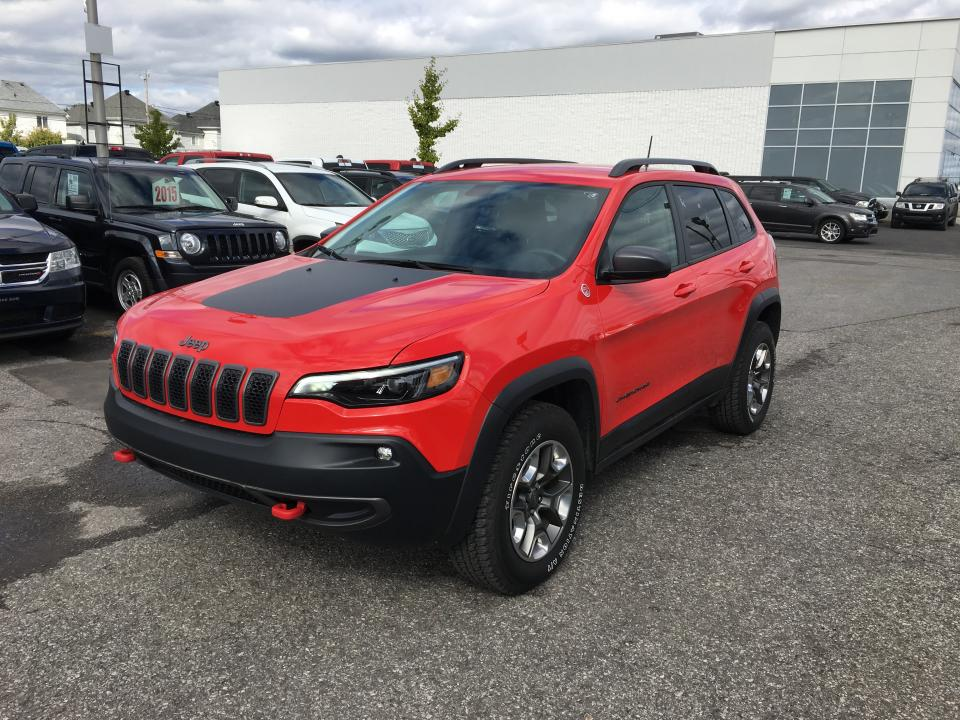 Jeep Cherokee TRAILHAWK 4X4 *CARPLAY*ANDROID AUTO*