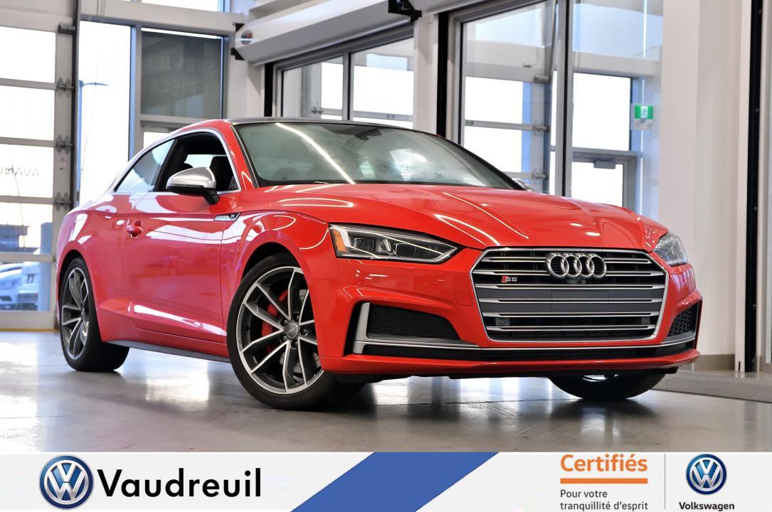 Audi S5 PROGRESSIV 3.0 TFSI * INT CARBONE * 3M