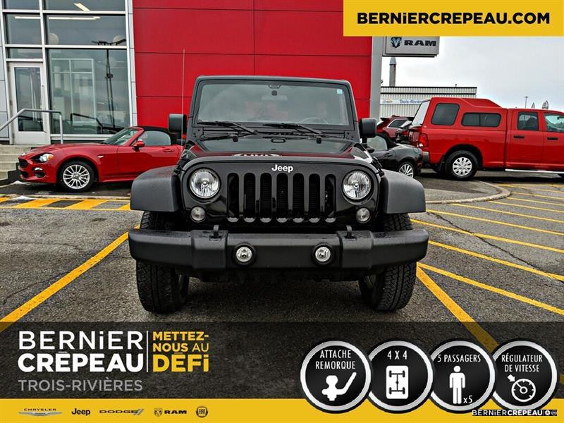 Jeep Wrangler SPORT A/C ATTELAGE